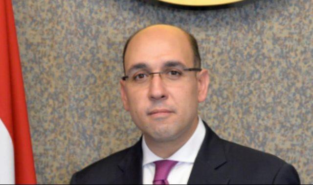 المستشار أحمد حافظ المتحدث الرسمي باسم وزارة الخارجية