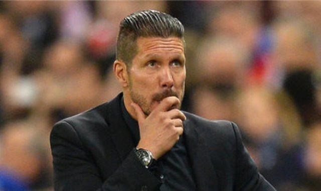 دييجو سيميونى مدرب اتلتيكو مدريد