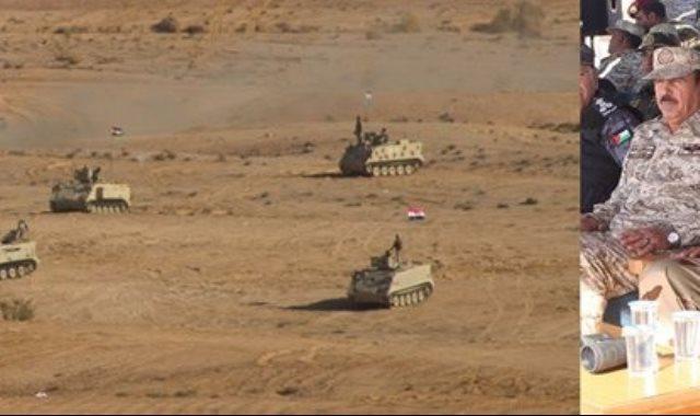 """جانب من فعاليات التدريب المصرى الأردنى المشترك """"العقبة 4"""""""