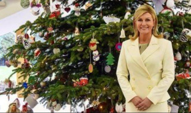 رئيسة كرواتيا كوليندا جرابار كيتاروفيتش