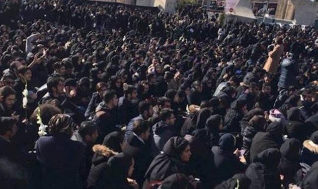 مظاهرة في إيران-أرشيفية