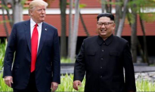 رئيسا كوريا الشمالية وامريكا