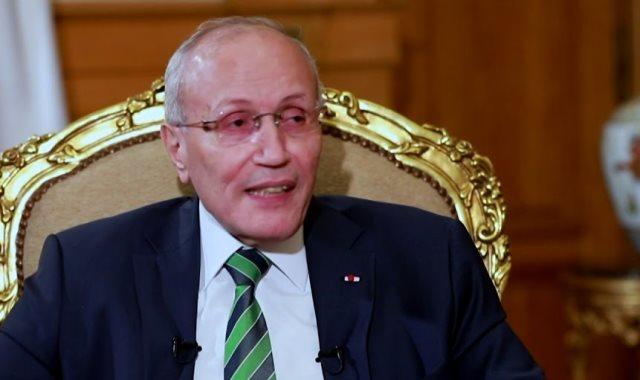 اللواء محمد العصار وزير الدولة للإنتاج الحربى