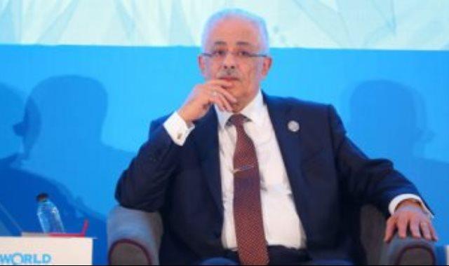طارق شوقي وزير التعليم العالى