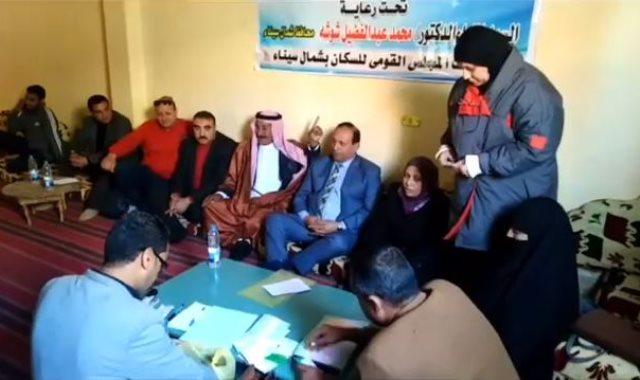 حملة استخراج أوراق ثبوتية لأهالى سيناء