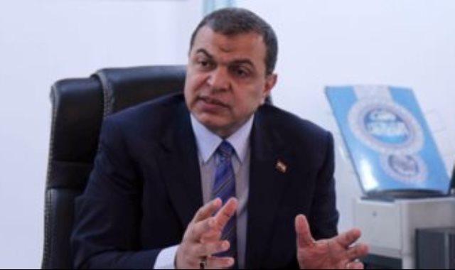 وزير القوى العاملة الدكتور محمد سعفان