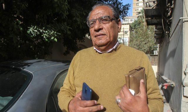 جانب من استطلاع رأى المواطنين حول فوز مصر بأمم أفريقيا 2019