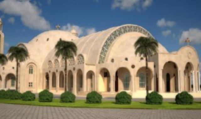 كاتدرائية ميلاد المسيح بالعاصمة الإدارية الجديدة