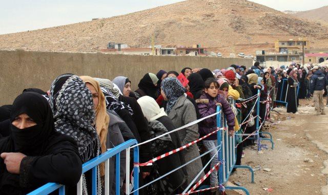 لاجئين سوريين - أرشيفية