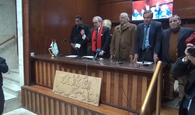 اتحاد كتاب مصر يقف دقيقة حداد على أرواح الشهداء