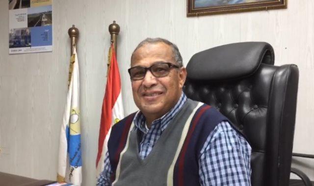 المهندس محمد بدرى  رئيس شركة مياه الشرب بسوهاج