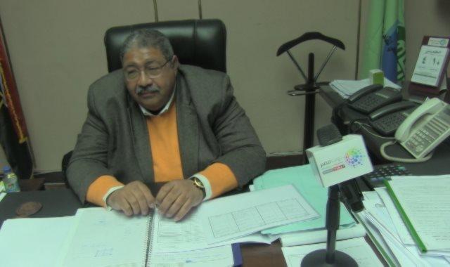 المهندس عادل حسن، رئيس مجلس إدارة شركة الصرف الصحى بالقاهرة