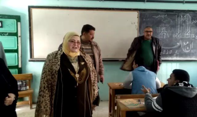 بثينة كشك وكيل تعليم كفر الشيخ