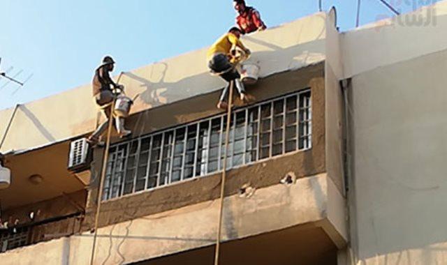 تنظيف البنايات- أرشيفية