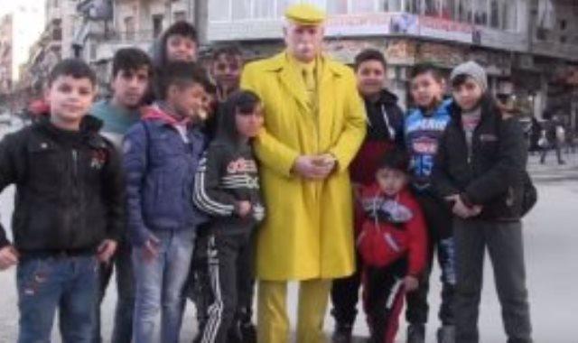الرجل الأصفر