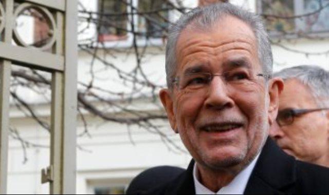 الرئيس النمساوي الكسندر فان