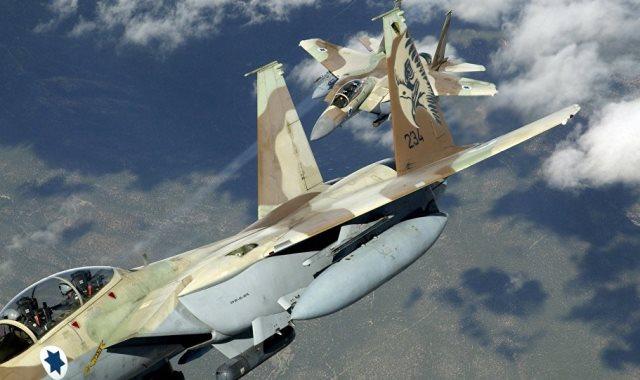طائرات قوات الاحتلال الإسرائيلي
