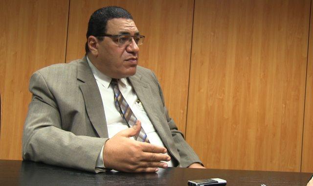 الدكتور هشام عبد الحميد رئيس مصلحة الطب الشرعى السابق