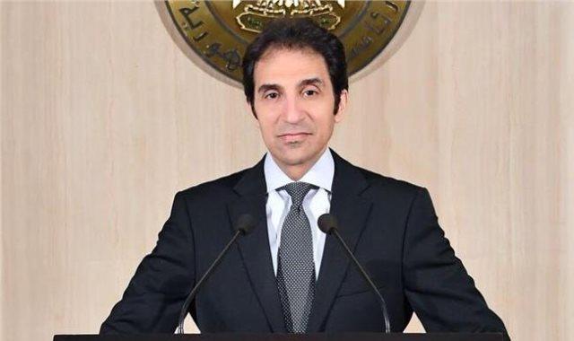 بسام راضى المتحدث باسم الرئاسة