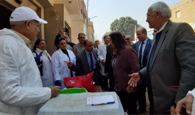الدكتورة منى محرز نائب وزير الزراعة للثروة الحيوانية