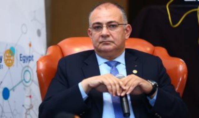 المهندس حسام صالح المتحدث الرسمى باسم الشركة المتحدة للخدمات الإعلامية