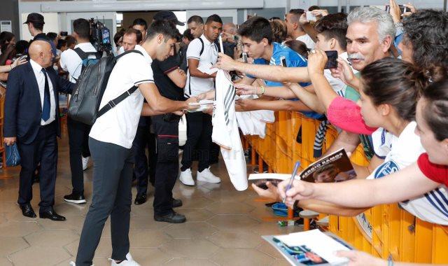 لاعبي ريال مدريد