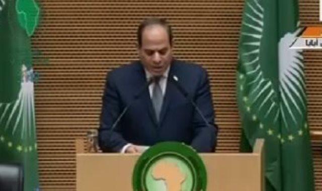مصر رئيساً للاتحاد الأفريقي