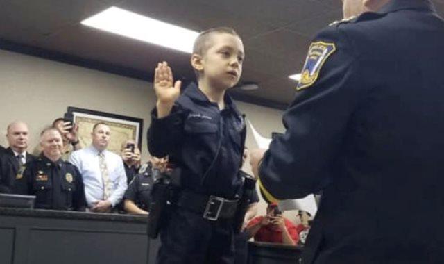 اصغر ضابط شرطة