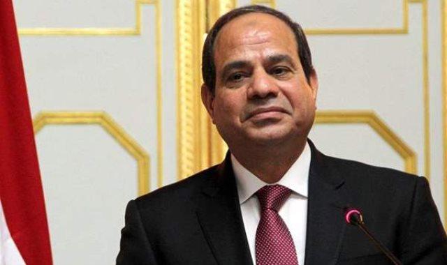 الرئيس عبد الفتاح السيسى أ
