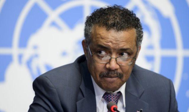 تيدروس ادهانوم مدير عام منظمة الصحة العالمية
