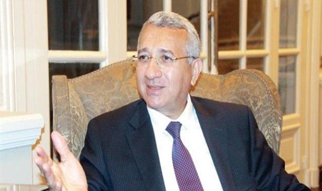 السفير محمد حجازى مساعد وزير الخارجية الأسبق