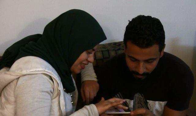 حب أحمد وشريهان