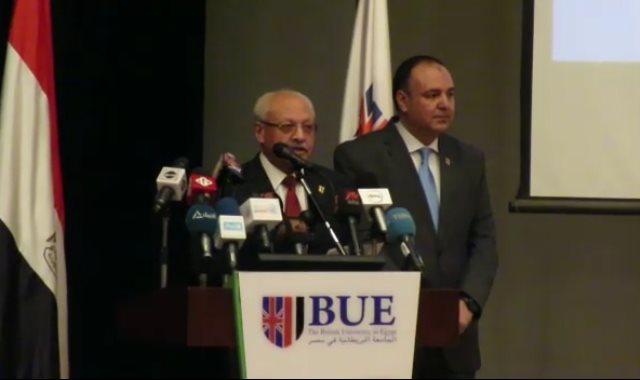 الدكتور أحمد حمد رئيس الجامعة البريطانية في مصر
