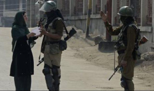 قوات الأمن فى كشمير