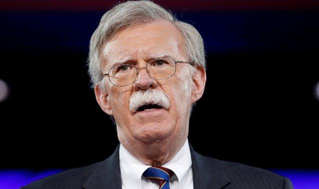جون بولتون مستشار الأمن القومي الأمريكي السابق