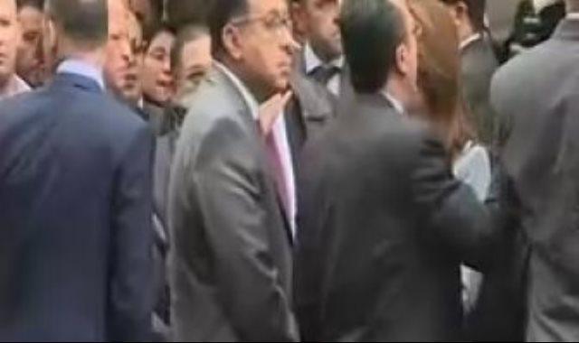 الدكتور مصطفي مدبولي والدكتورة غادة والي