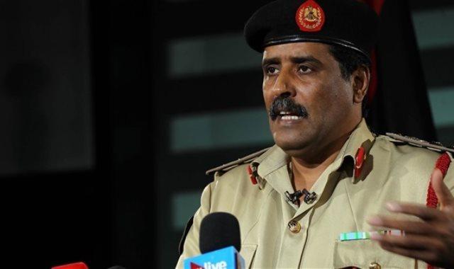 المتحدث باسم الجيش الوطنى الليبي