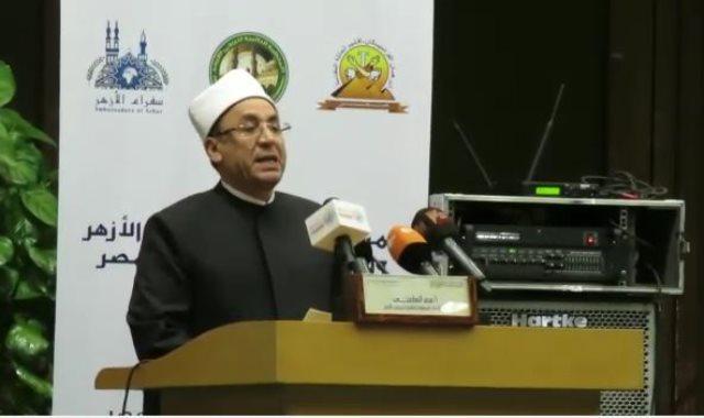 الشيخ صالح عباس وكيل الأزهر الشريف