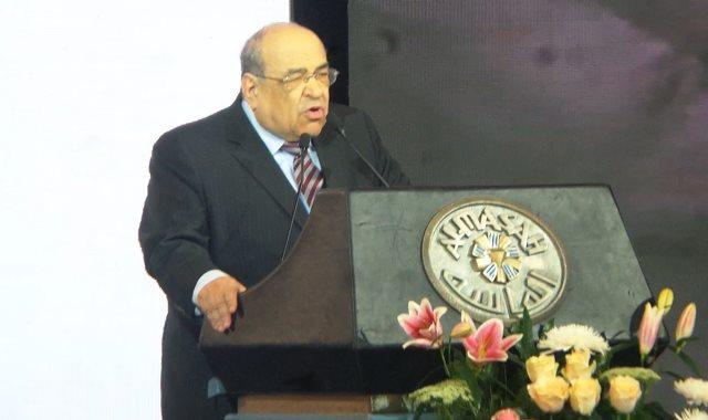 مصطفى الفقى رئيس مكتبة الإسكندرية