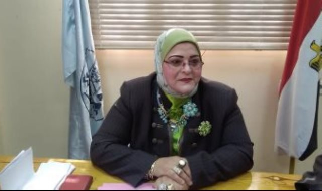 الدكتورة بثينة كشك، وكيل تعليم كفر الشيخ