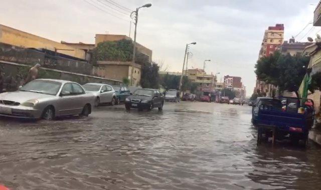 غرق شوارع الإسماعيلية