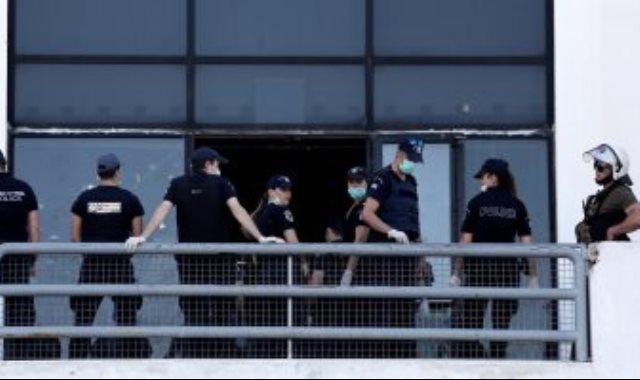 الشرطة اليونانية
