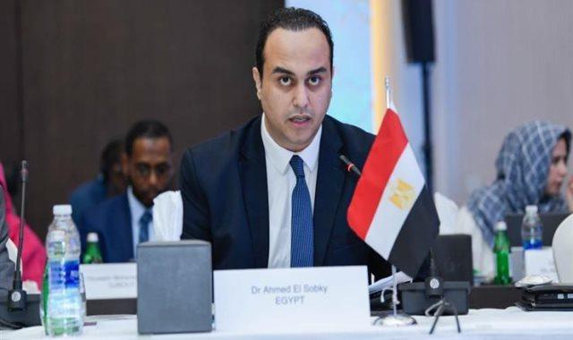 الدكتور أحمد السبكى مساعد وزيرة الصحة والسكان لشئون الرقابة والمتابعة
