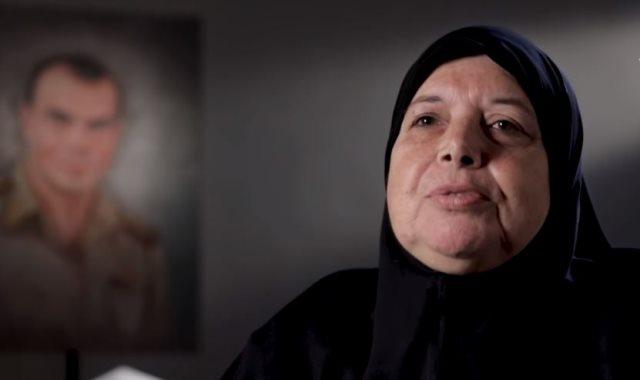 والدة الشهيد رائد أحمد عمر الشبراوى
