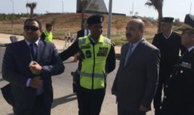 مدير الإدارة العامة للمرور يشارك في حملات مرورية