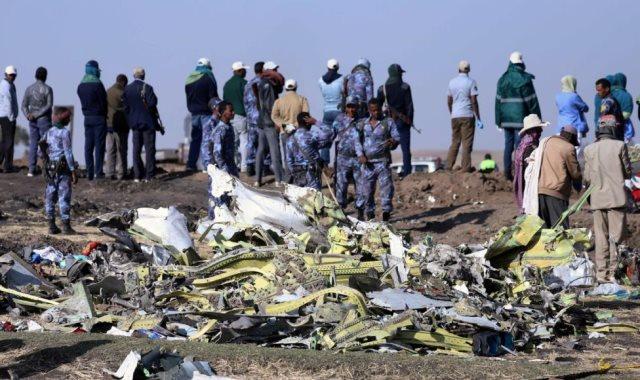 الطائرة الأثيوبية