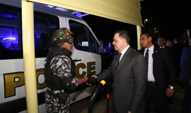محمود توفيق وزير الداخلية
