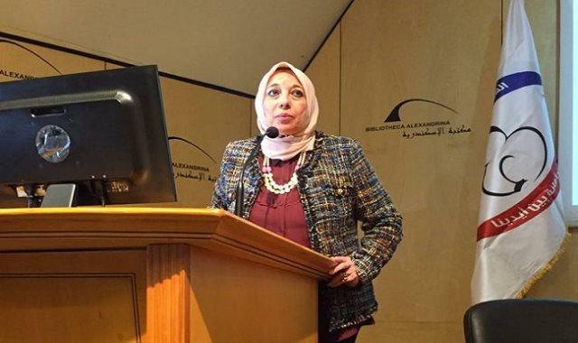 الدكتورة سهير عبد الحميد رئيس هيئة التأمين الصحى