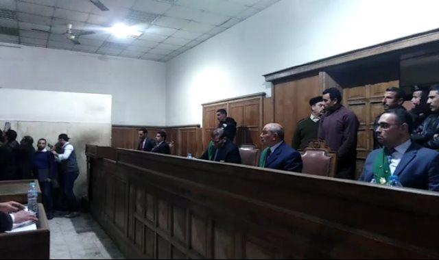محكمة جنايات المنصورة