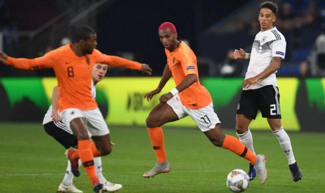 هولندا ضد المانيا - أرشيفية